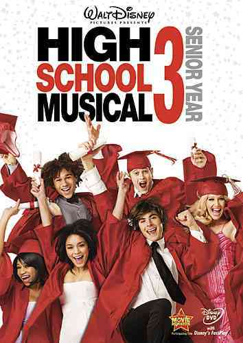 HIGH SCHOOL MUSICAL 3:SENIOR YEAR BY EFRON,ZAC (DVD)